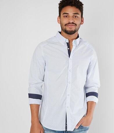 J.B. Holt Striped Standard Stretch Shirt