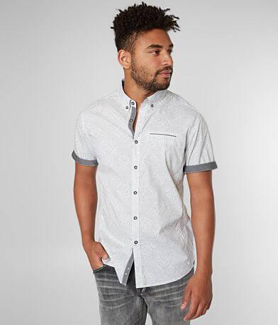 J.B. Holt Paisley Athletic Stretch Shirt