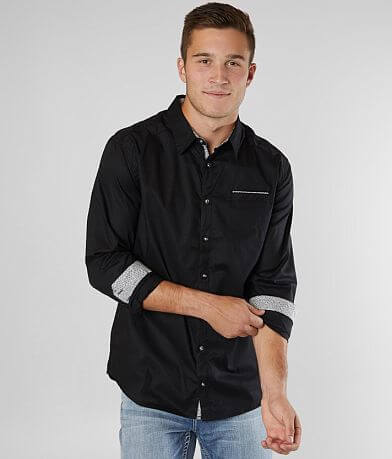 J.B. Holt Solid Athletic Stretch Shirt