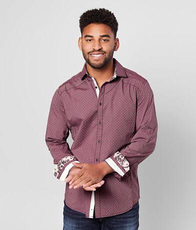 J.B. Holt Printed Athletic Stretch Shirt