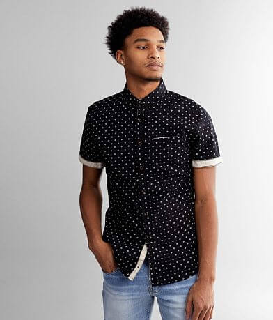 J.B. Holt Printed Athletic Stretch Shirt