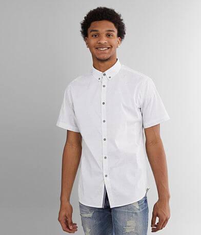 J.B. Holt Tonal Paisley Athletic Stretch Shirt