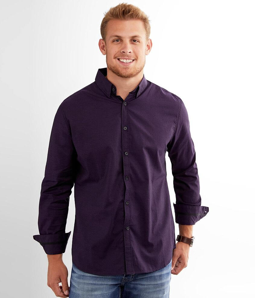 J.B. Holt Solid Athletic Stretch Shirt front view