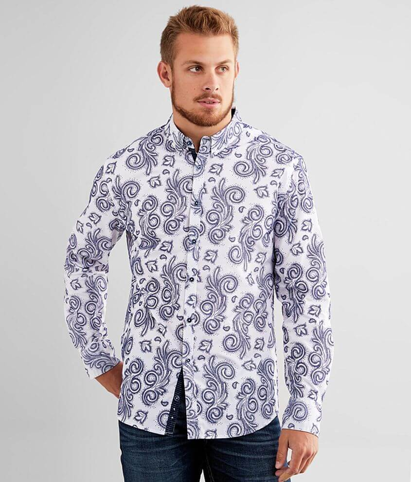 J.B. Holt Baroque Athletic Stretch Shirt front view