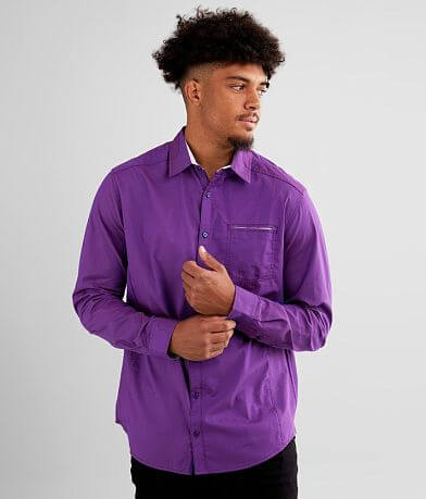 J.B. Holt Embroidered Athletic Stretch Shirt