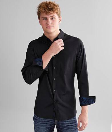 J.B. Holt Solid Standard Stretch Shirt