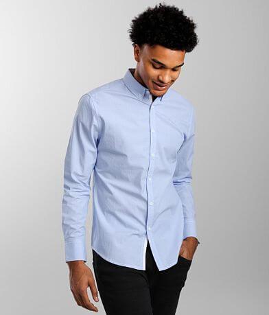 J.B. Holt Jacquard Tailored Shirt