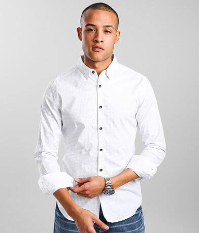 J.B. Holt Square Tailored Stretch Shirt
