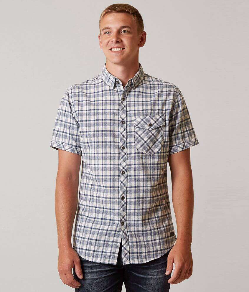 Outpost Makers Plaid Shirt front view