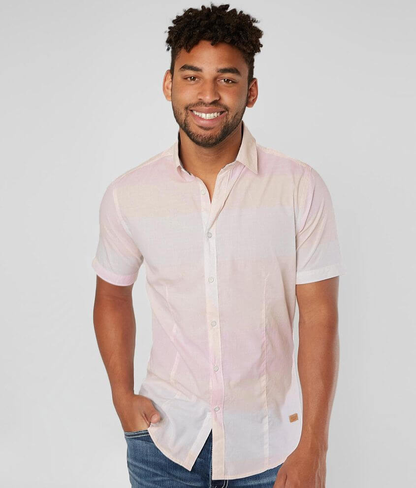 Outpost Makers Striped Shirt front view