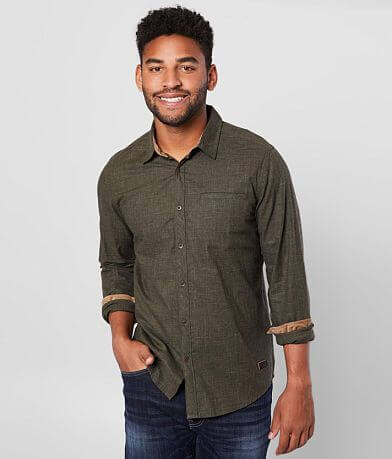 Outpost Makers Solid Woven Shirt
