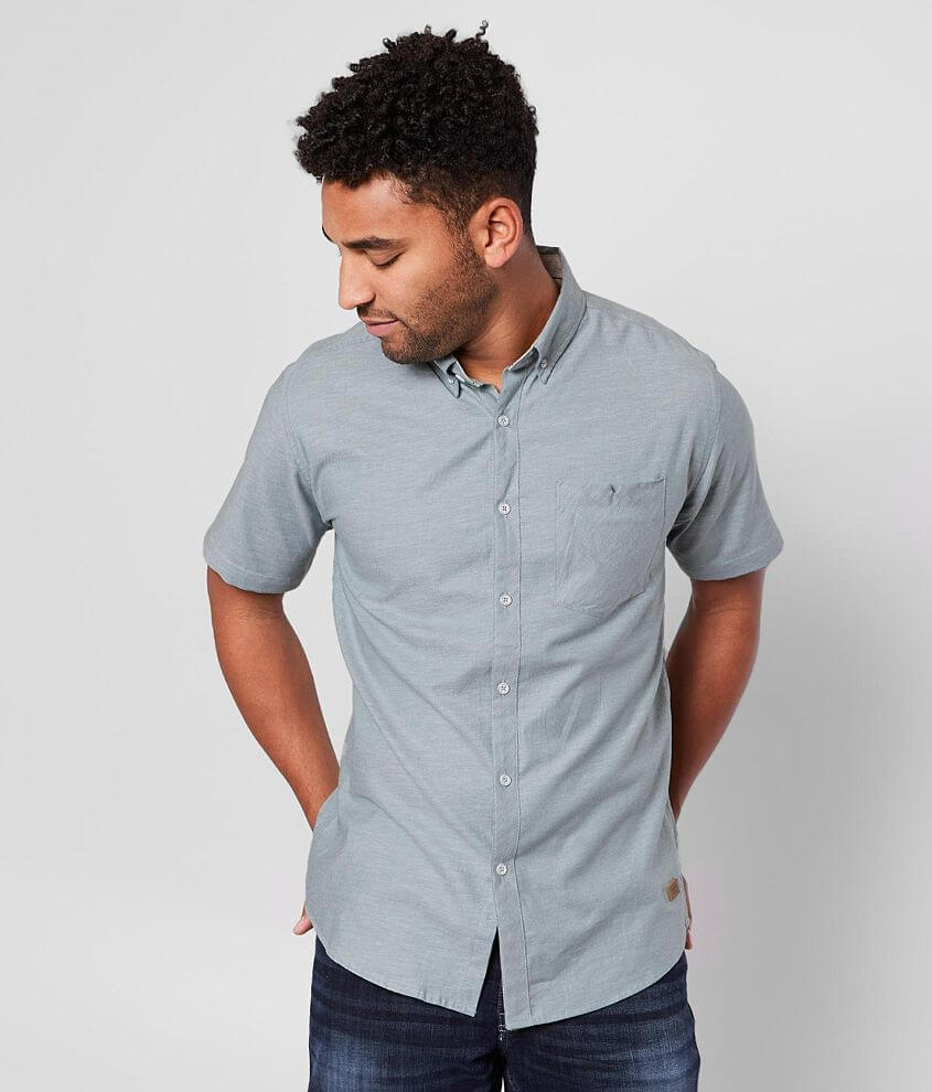 Outpost Makers Solid Stretch Shirt front view