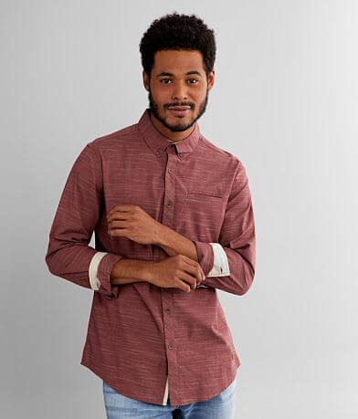 Outpost Makers Marled Stretch Shirt