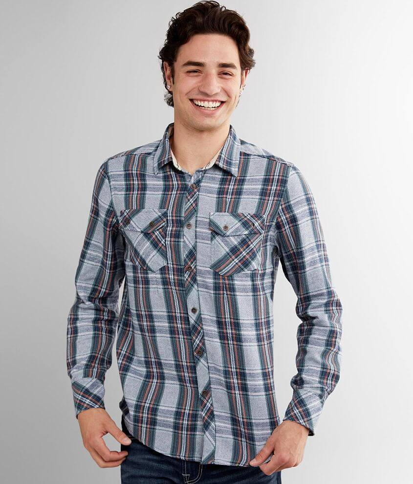 Outpost Makers Flannel Shirt front view