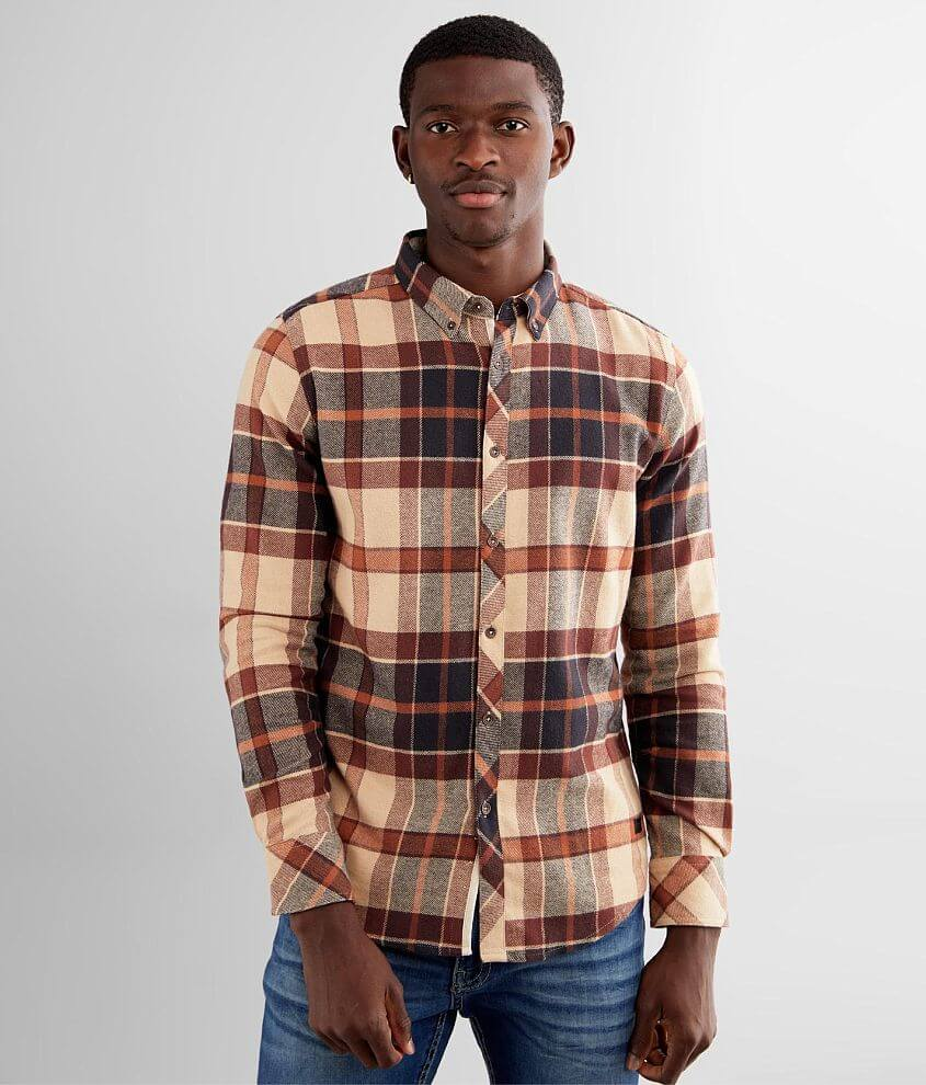 Outpost Makers Flannel Stretch Shirt front view