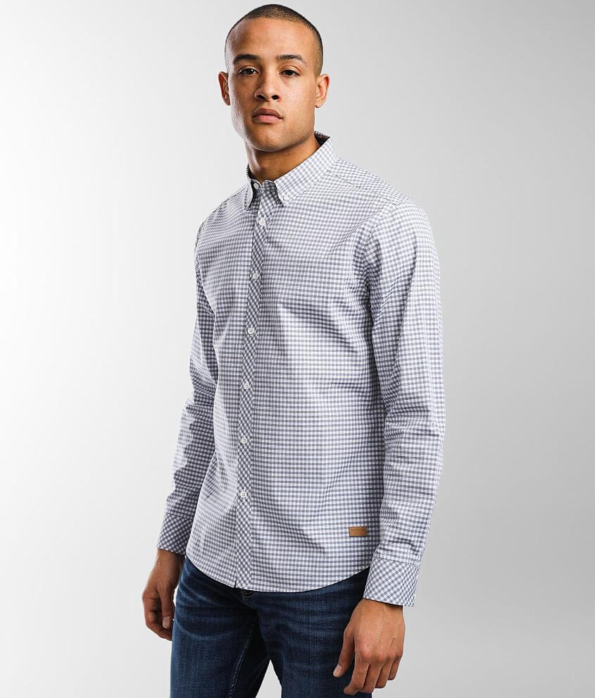 Outpost Makers Gingham Shirt front view