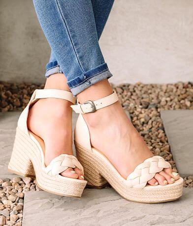 Oasis Society Roccio Puffer Heeled Sandal