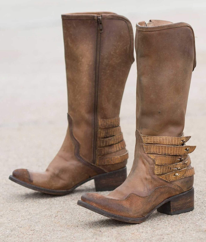 4130aea6dd3 Freebird by Steven Draft Boot - Women's Shoes in Tan | Buckle
