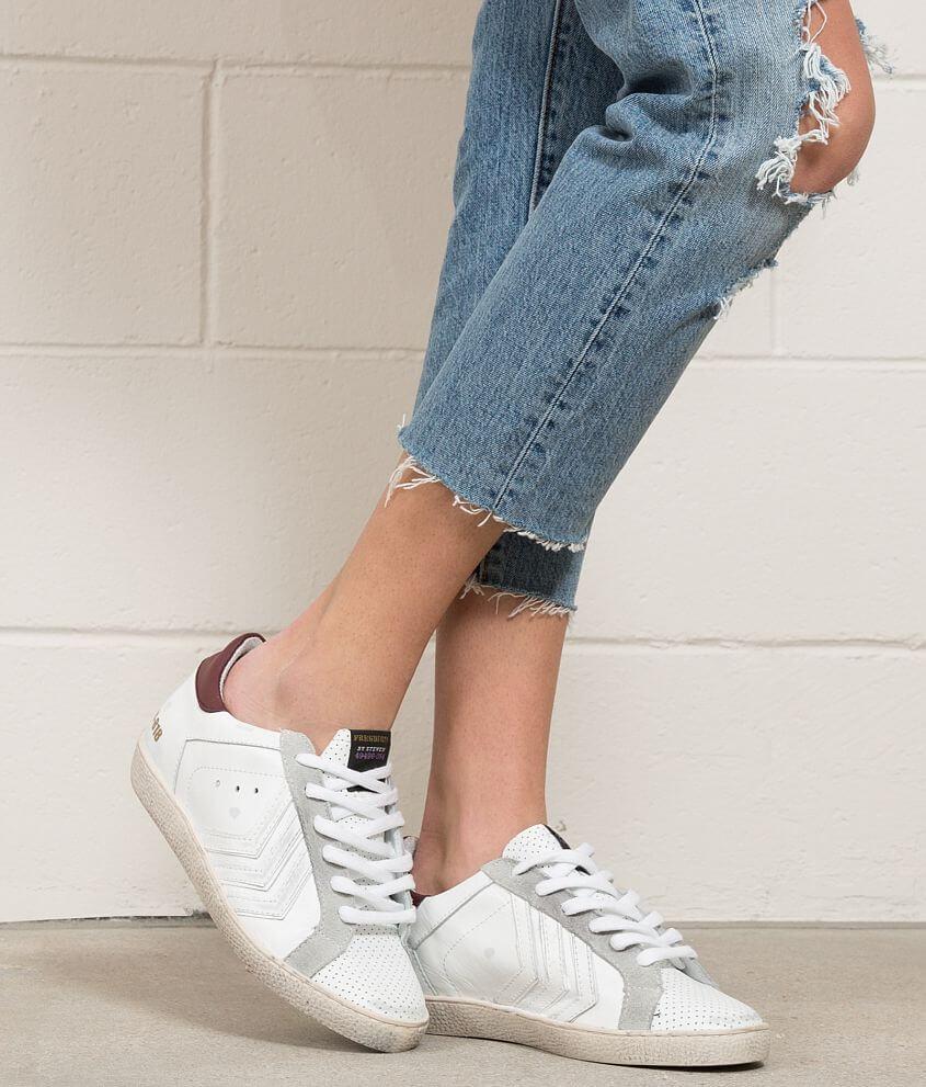17121d12aa1 Freebird by Steven Leather Shoe - Women s Shoes in White Multi