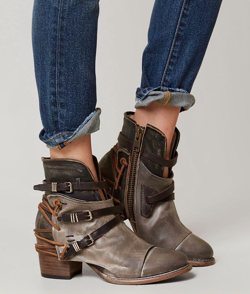 6f32aeeaf25 Freebird by Steven Crue Ankle Boot - Women's Shoes in Grey Multi ...