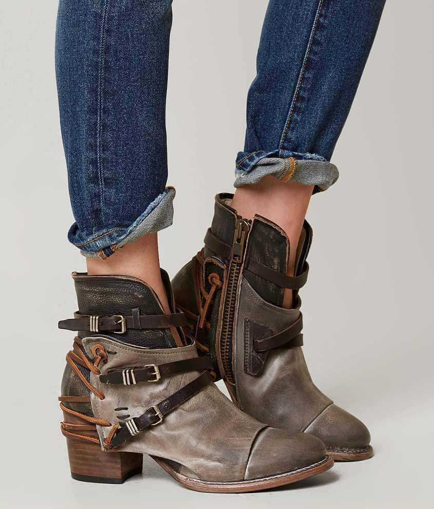 Freebird by Steven Crue Ankle Boot - Women's Shoes in Grey Multi | Buckle