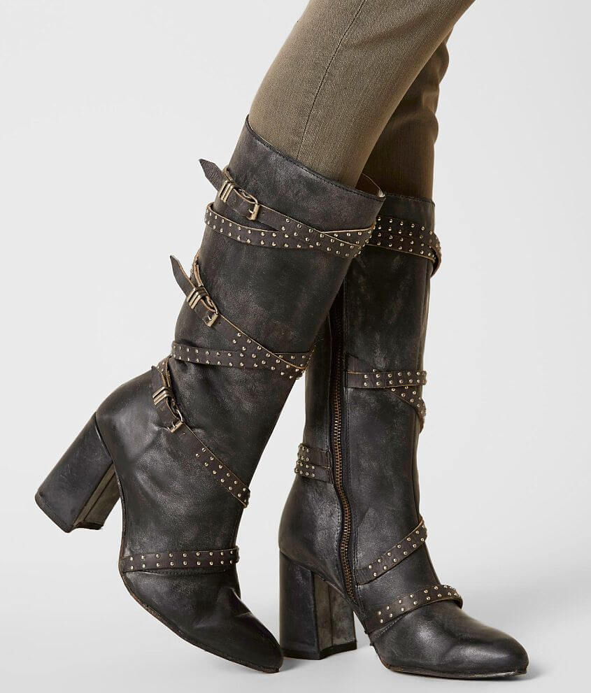 b7d6ceb1d82 Freebird by Steven Jax Leather Boot - Women s Shoes in Black Multi ...