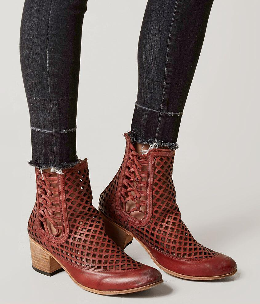 d0793641db2 Freebird by Steven Lazor Leather Ankle Boot - Women s Shoes in Red ...