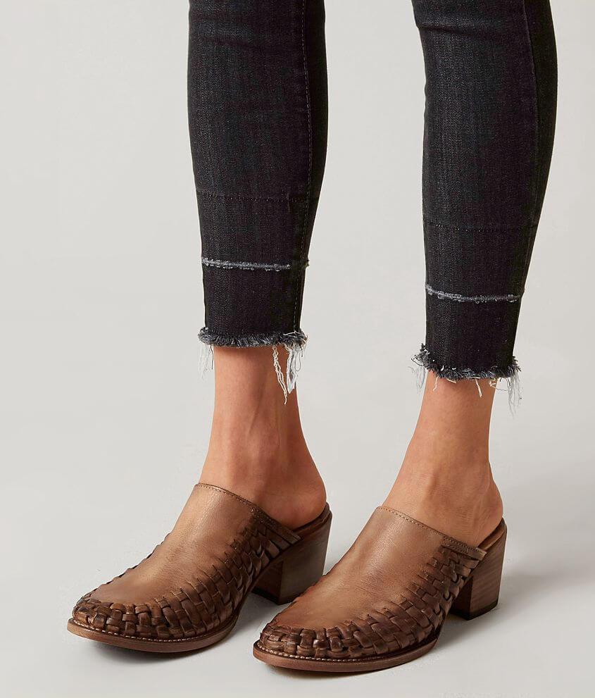 ebc26abc8472b Freebird by Steven Sofia Leather Mule Shoe - Women's Shoes in Cognac ...