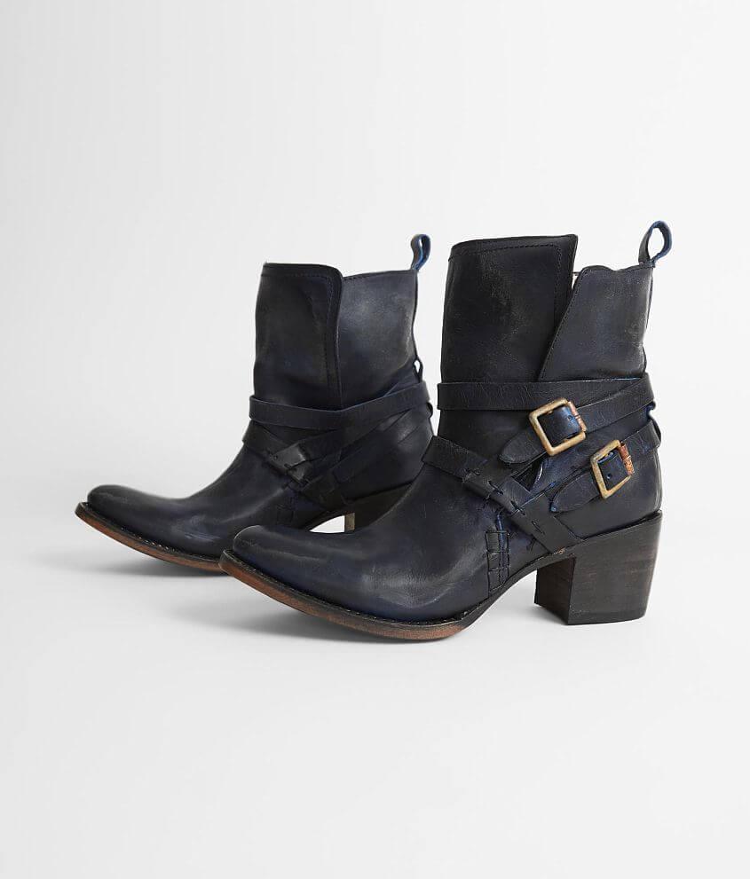 d707fd97b3c Freebird by Steven Saint Leather Boot - Women s Shoes in Blue