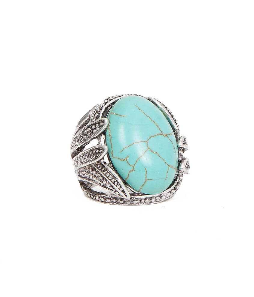 BKE Large Stone Ring front view