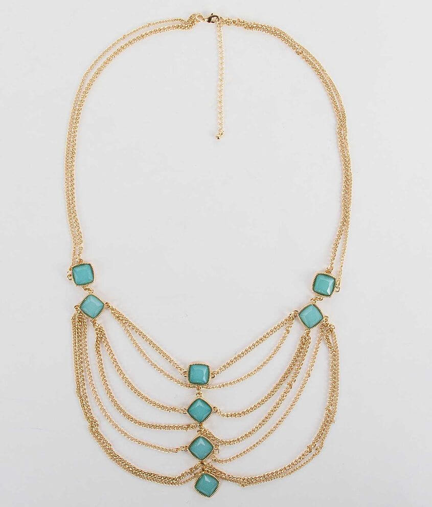 BKE Layered Necklace front view