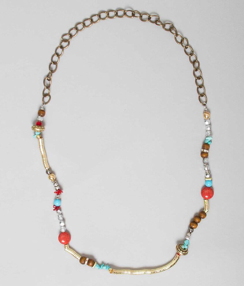 Daytrip Beaded Necklace front view