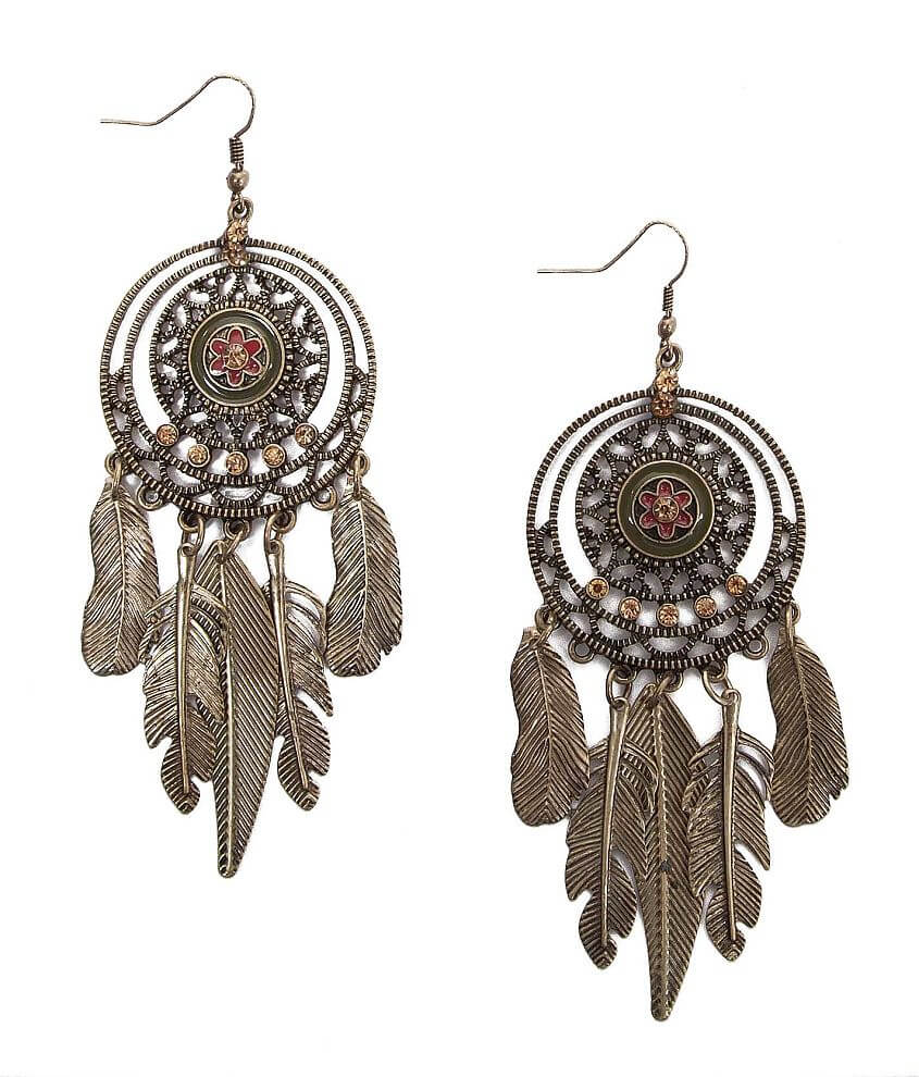 Daytrip Dreamcatcher Earring front view