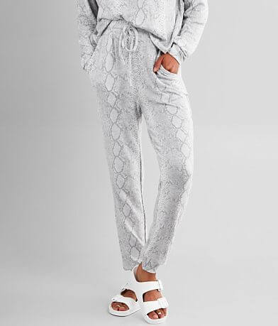 Fornia Snake Print Brushed Knit Jogger