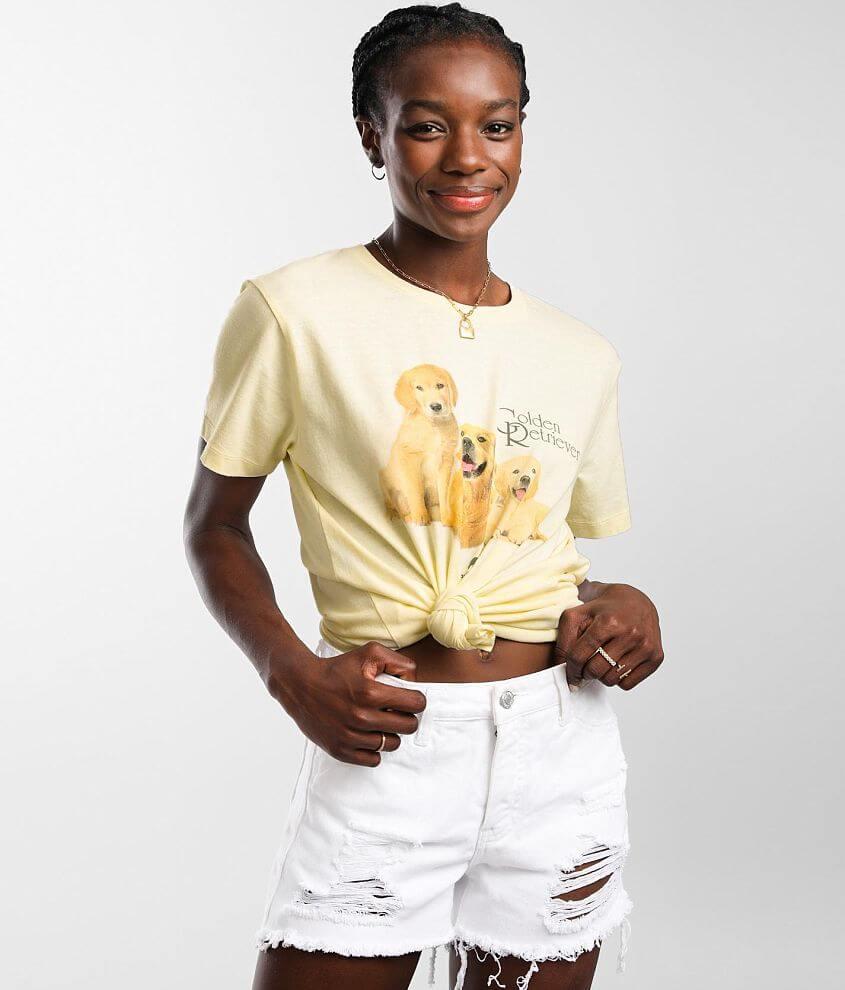 Desert Dreamer Golden Retriever T-Shirt front view