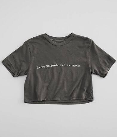 Desert Dreamer Zero Dollars Cropped T-Shirt