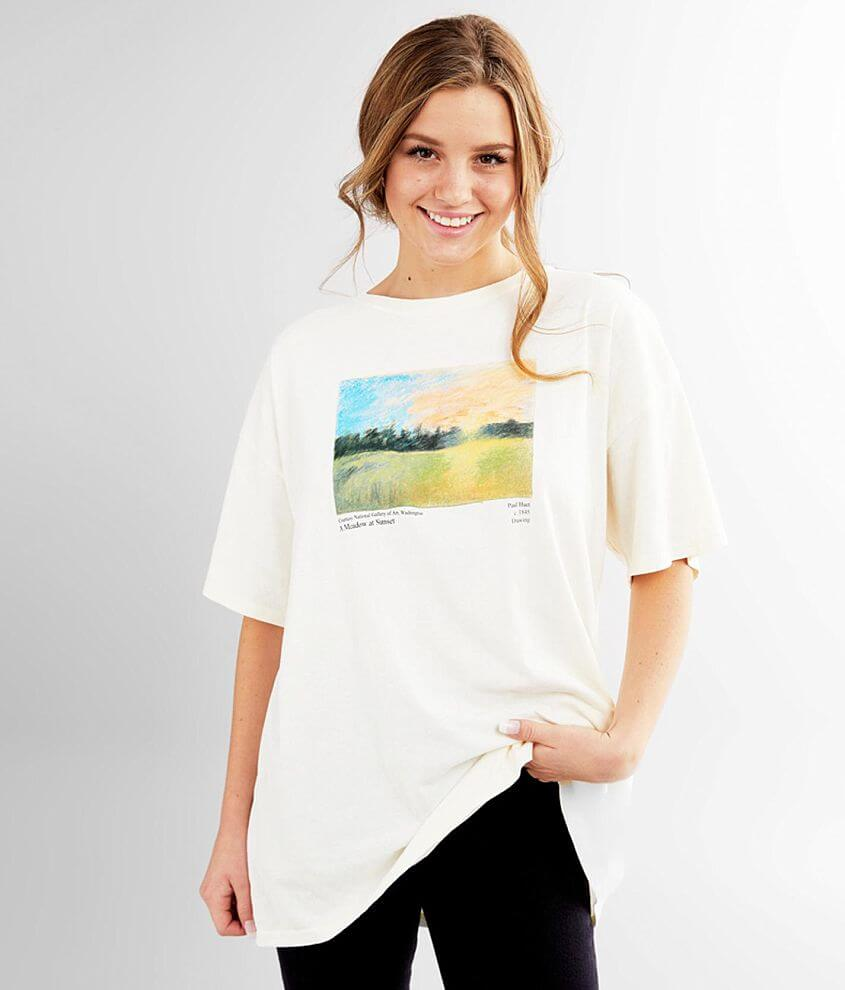 Dad fit oversized graphic t-shirt Bust measures 48\\\