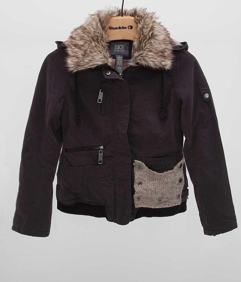 BKE Solid Coat front view