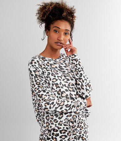 Fornia Leopard Print Sweatshirt