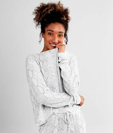 Fornia Snake Print Sweatshirt