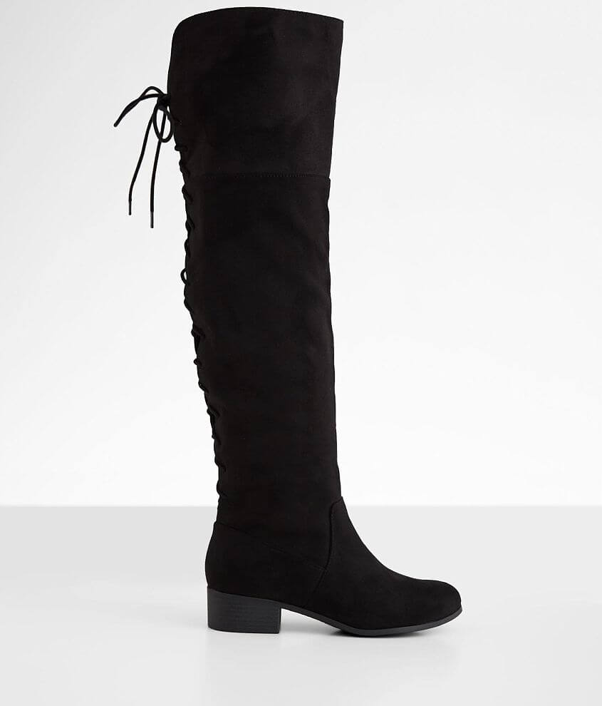Soda Barbara Over The Knee Boot front view