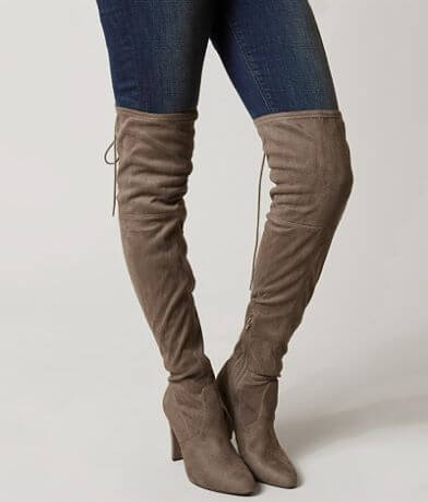 Soda Faux Suede Boot