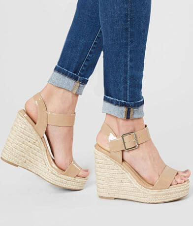 My Delicious Shoes Burst Wedge Sandal