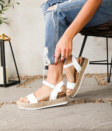 Soda Clips Flatform Sandal