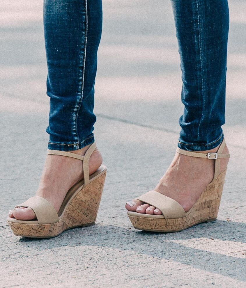My Delicious Shoes Fantasy Wedge Sandal