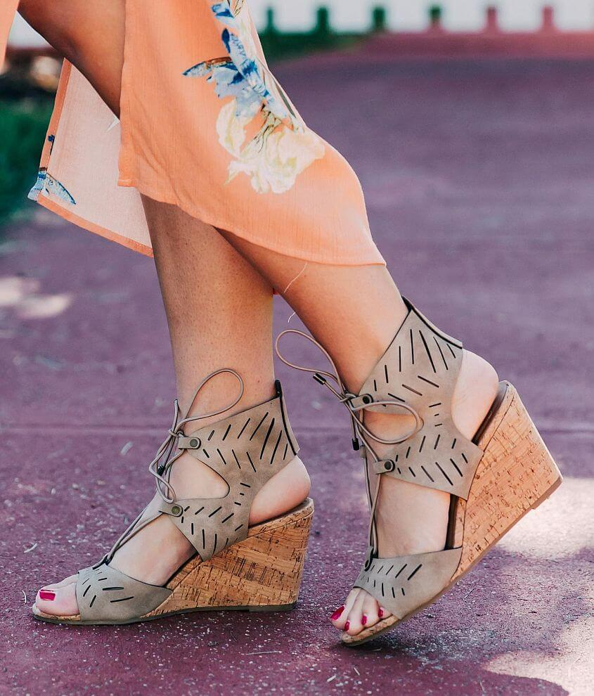 My Delicious Shoes Freeze Wedge Sandal