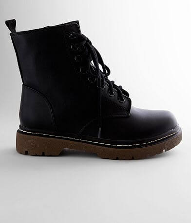 Soda Grunges Combat Boot