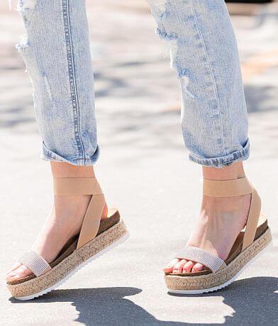 Soda Strappy Espadrille Flatform Sandal