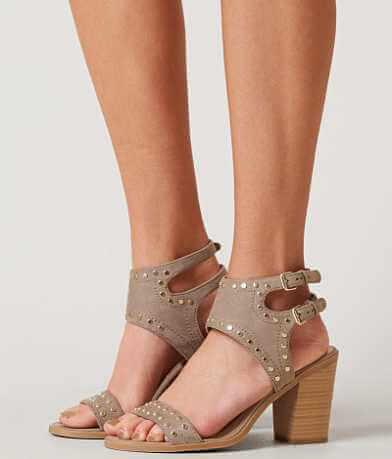 Soda Peep Toe Heeled Sandal