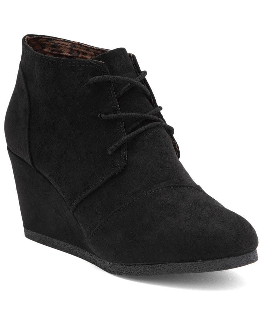 Cityclassified Lace-Up Wedge Shoe front view